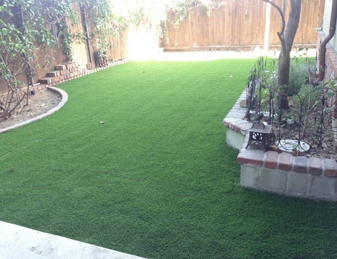 Residential Artificial Grass Landscape - Coronado Best Turf, San Diego