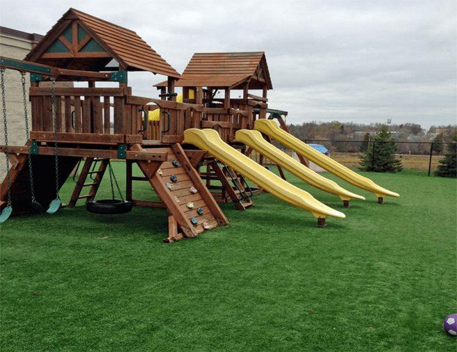 Playground Turf Landscape - Coronado Best Turf, Artificial Grass,