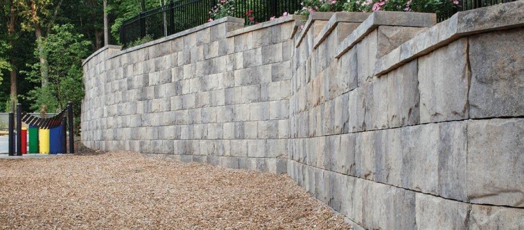 Freestanding or Structural Retaining Walls - Coronado Best Turf San Diego