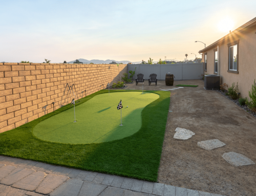 Artificial Putting Green, Paver Install Santee